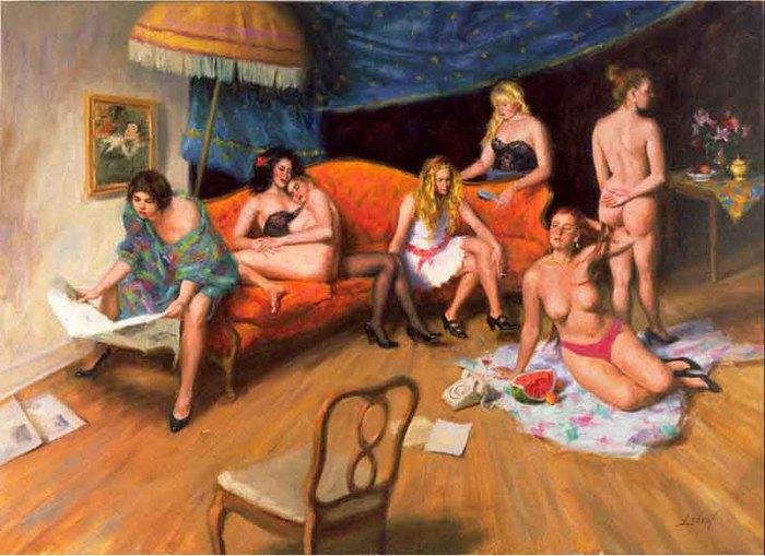 проститутки портрет