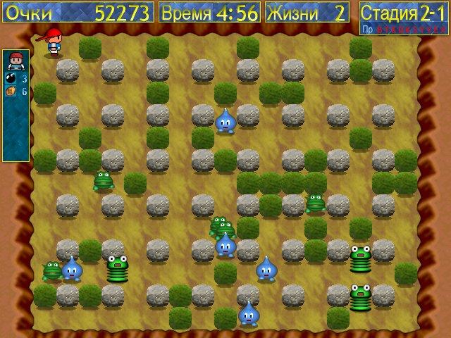 Игра Маленькие бомберы - играть онлайн бесплатно