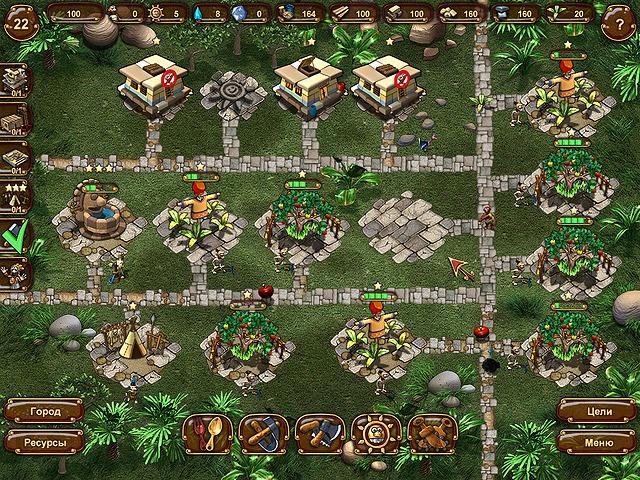 Новая земля. Картинка из игры Племя ацтеков.