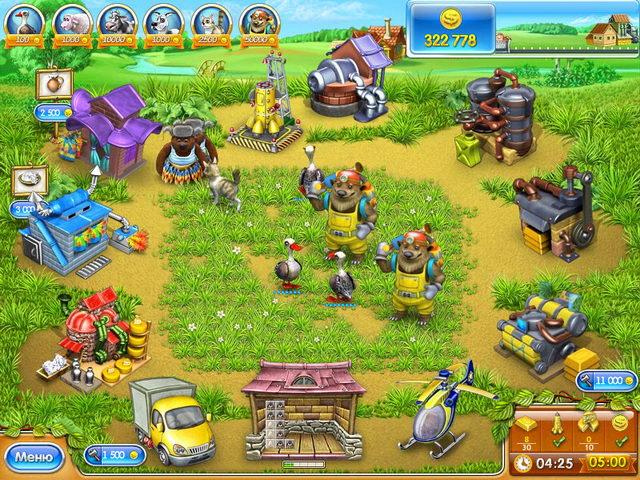 русска¤ ферма играть онлайн