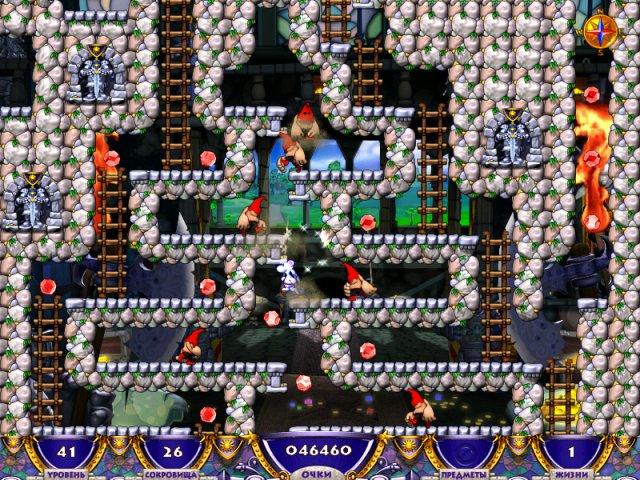 Игры Приключение Снежка
