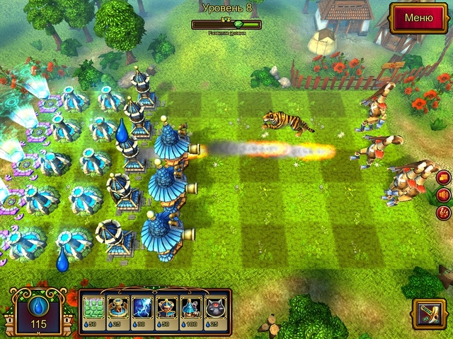 Игры Защита башни - играть онлайн, бесплатно