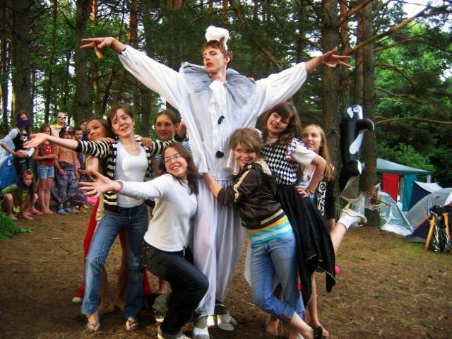 Сценарий шоу импровизация в лагере