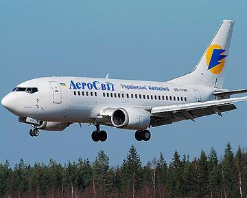 банкротство украинской авиакомпании