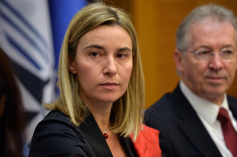 Линкявичюс не хочет комментировать кандидатуру Могерини на пост главы внешней политики ЕС