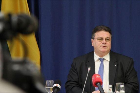 Министр иностранных дел Литвы отчитался о проделанной работе