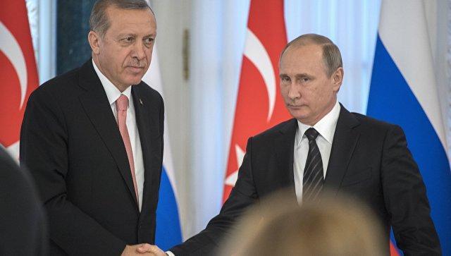 Путин назвал общую цель сТурцией