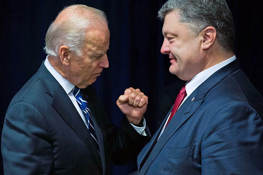 Байден Порошенко: Минимум 5 странЕС готовы снять санкции против Российской Федерации