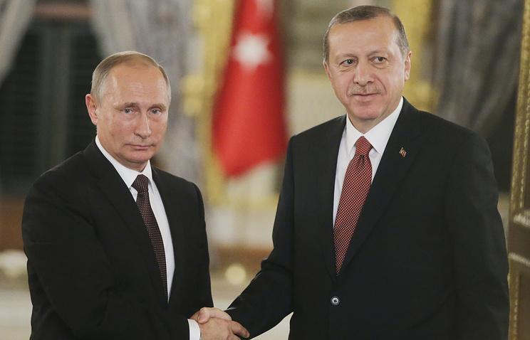 Эрдоган предложил Путину перейти нарасчеты внацвалютах