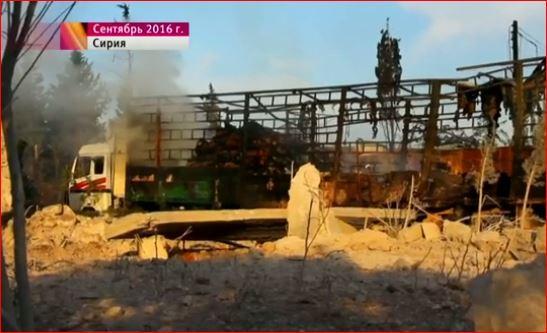Комиссия ООН несмогла установить виновных вобстреле гуманитарного конвоя вСирии