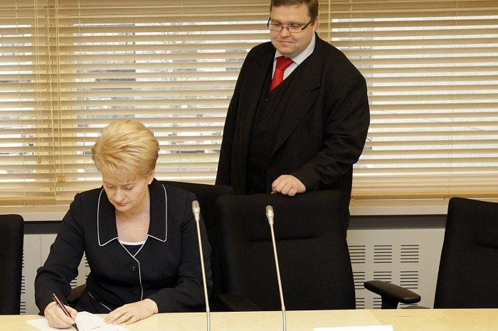О чём глава Банка Литвы узнал в Вашингтоне