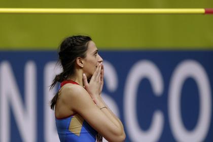 Россиянка Ласицкене выиграла этап «Бриллиантовой лиги» впрыжках ввысоту