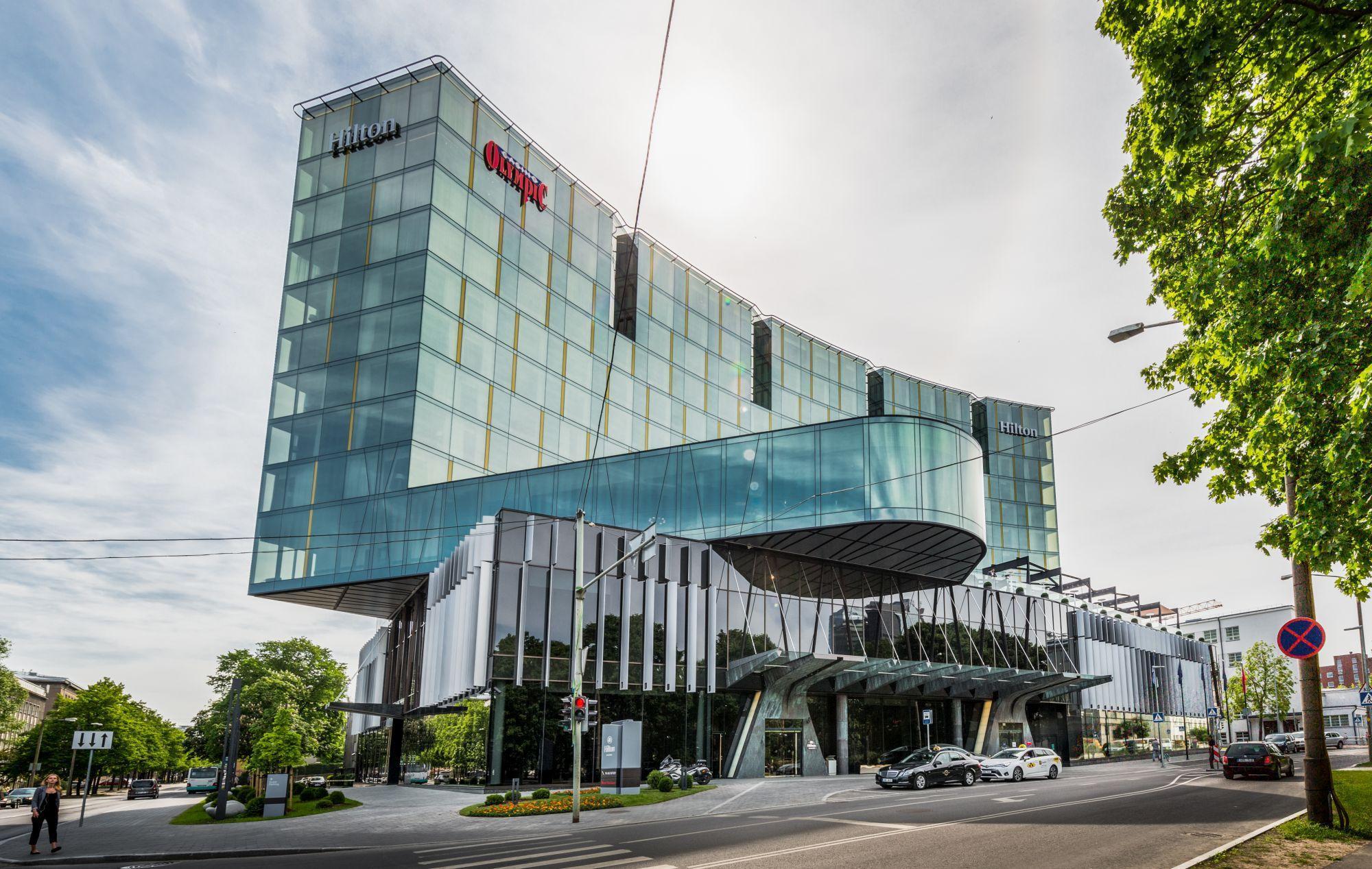 """Отмена льготного НДС для гостиниц """"отменит"""" проект Hilton в Вильнюсе"""