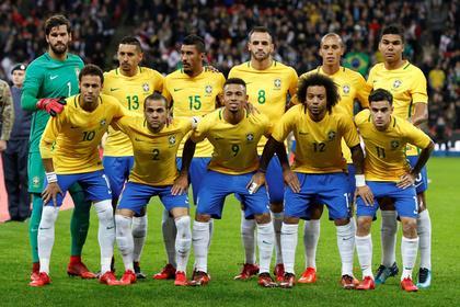 Сборная Бразилии пофутболу является самой дорогой командой-участницейЧМ
