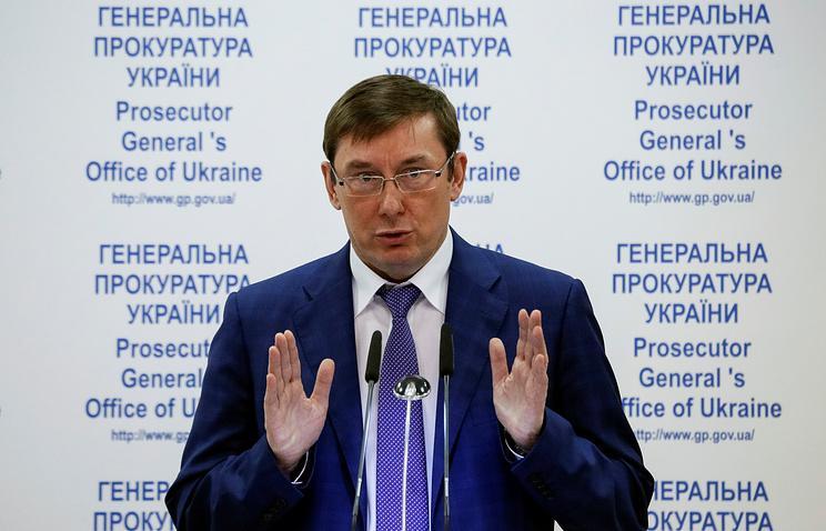Генеральный прокурор  Украины объявил , что Саакашвили организовывал митинги наденьги Януковича