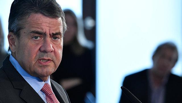 Габриэль: антироссийские санкции США мешают интересам Германии
