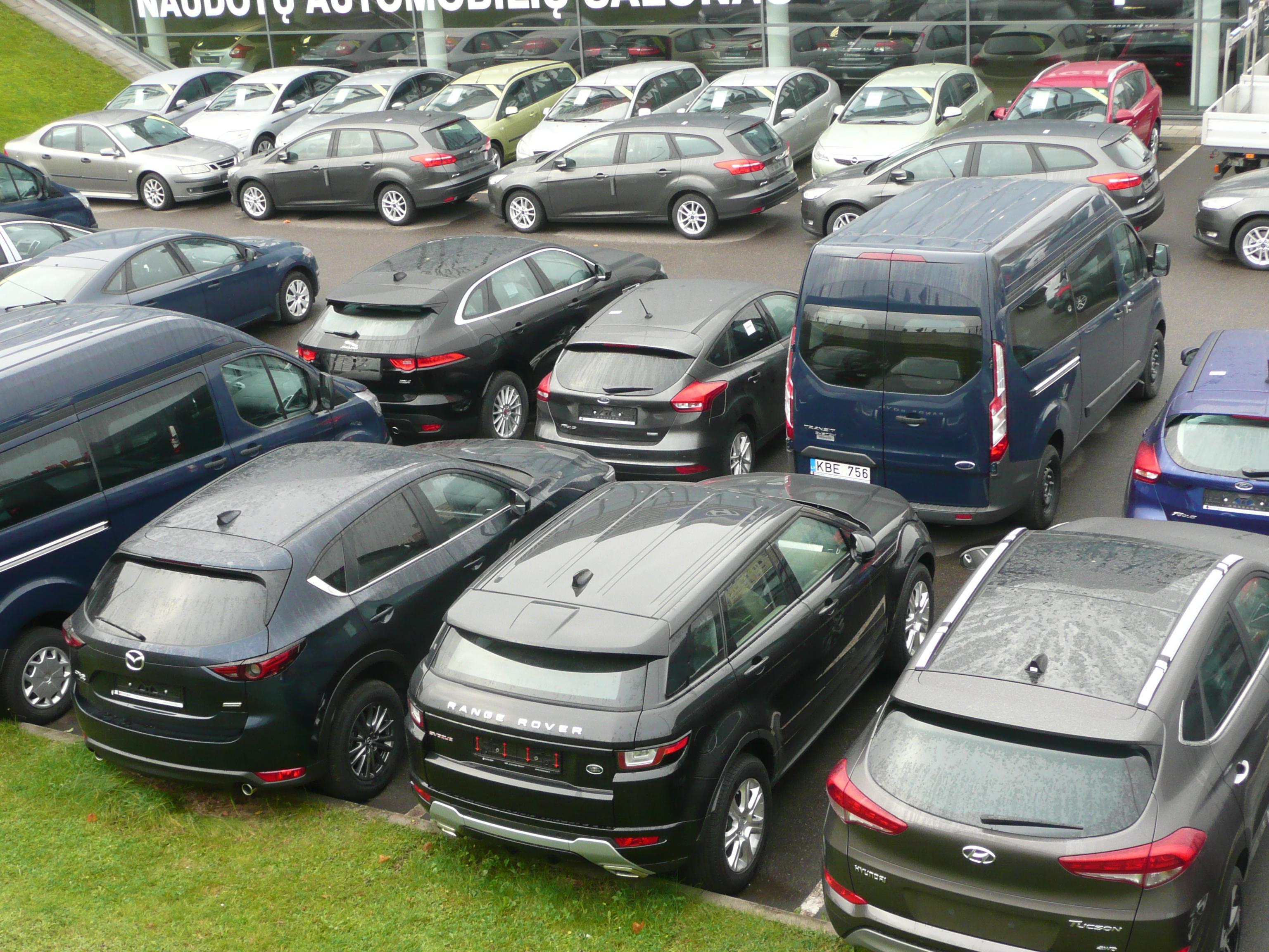 В Литве рассмотрят возможность налога на автомобили