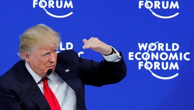 Трамп невстретился сПорошенко вДавосе из-за нехватки времени