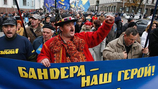 На Украине призвали Польшу не запрещать бандеровскую идеологию