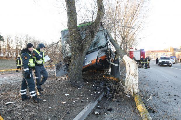 Авария в Клайпеде