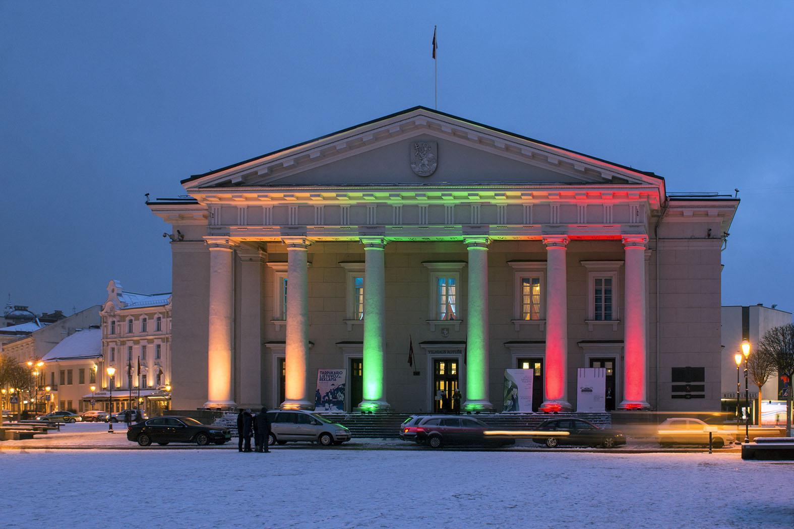 ВВильнюсе прошло торжественное шествие послучаю 100-летия Литвы
