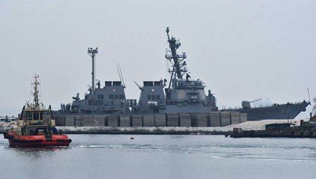 В Госдуме прокомментировали прибытие в Черное море второго эсминца ВМС США
