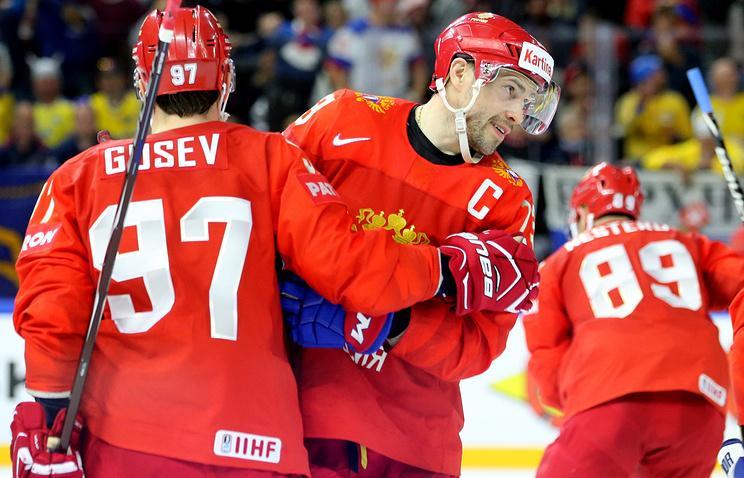 Российские хоккеисты приблизились к выходу в четвертьфинал ЧМ, обыграв швейцарцев