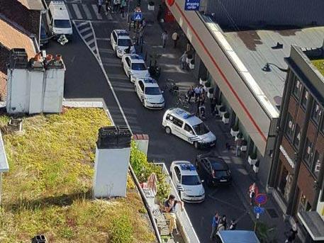 ВБрюсселе женщина смачете напала напассажиров автобуса ипрохожих