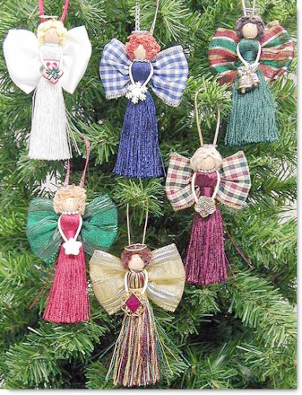 Рождественские украшения на елку своими руками