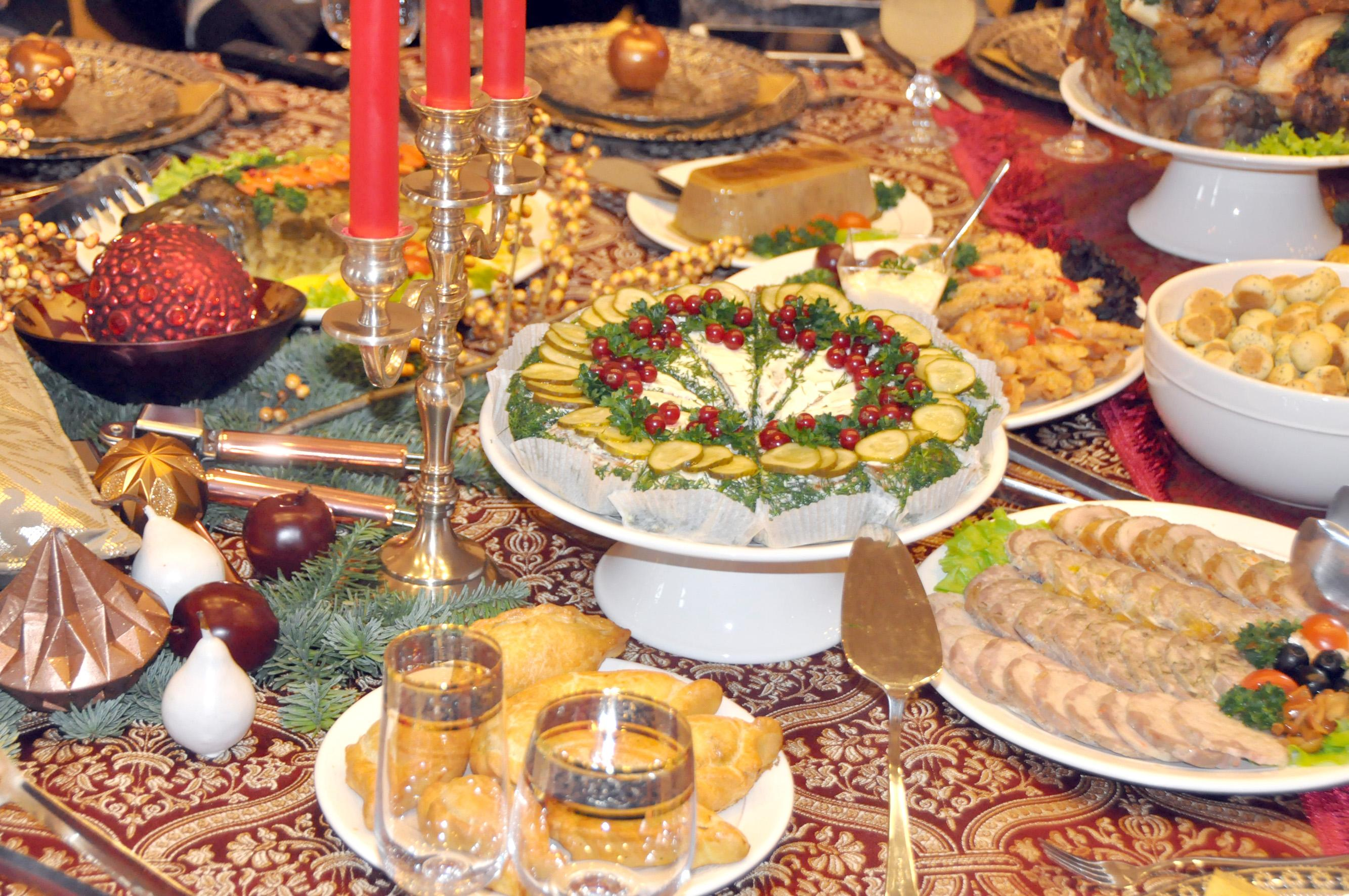 Армянский новогодний стол фото