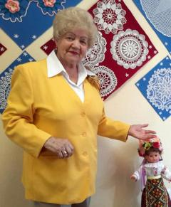 Галина Харбедия и её куклы
