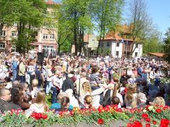 В Литве отметили  праздник Победы