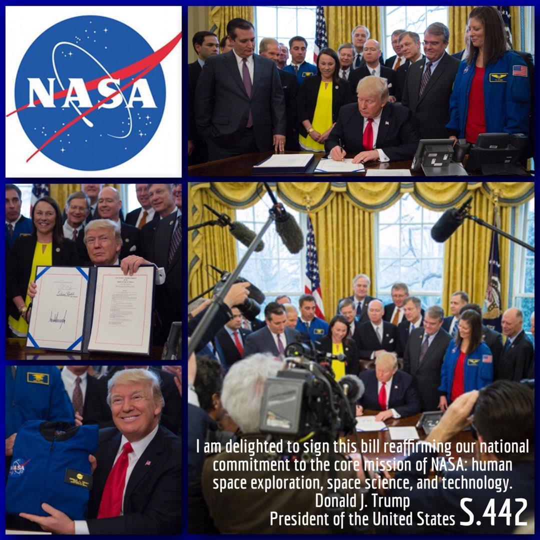 Трамп профинансировал пилотируемый полет NASA наМарс