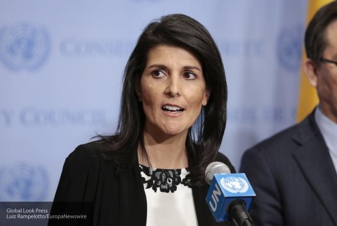 США критикуютРФ зато, что они сделали сКрымом— Хейли