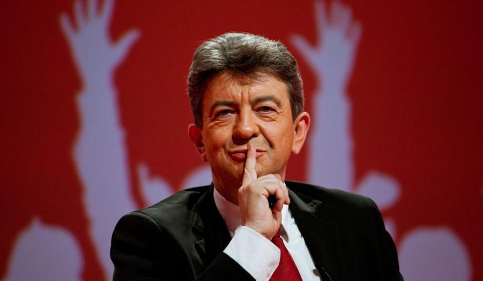 Опрос: самым убедительным кандидатом впрезиденты Франции стал Меланшон