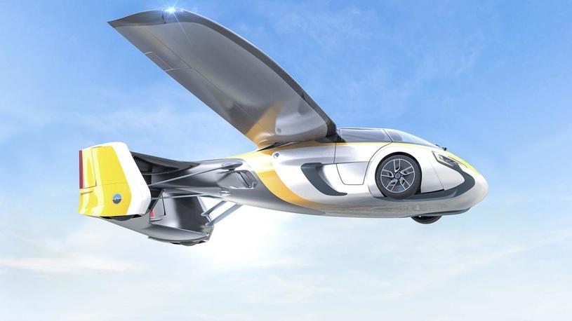 Летающий автомобиль изСловакии начнут выпускать в 2020-ом