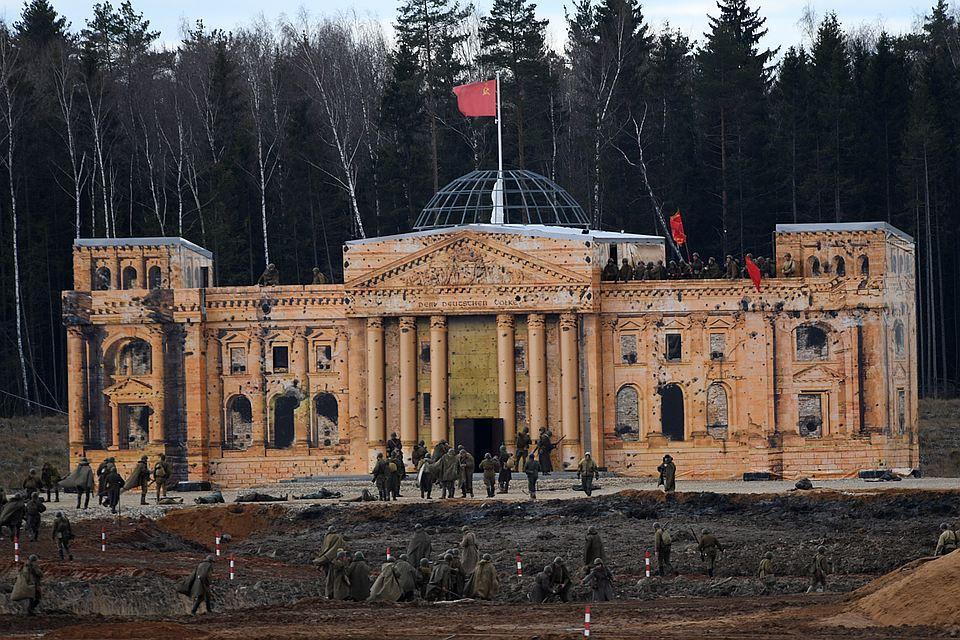 Впарке «Патриот» осенью организуют реконструкцию Битвы за столицу