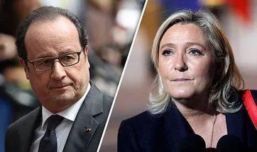 Оланд открыто выступил против Марин Ле Пен