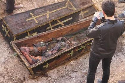На турецкой стройке обнаружили останки российского генерала