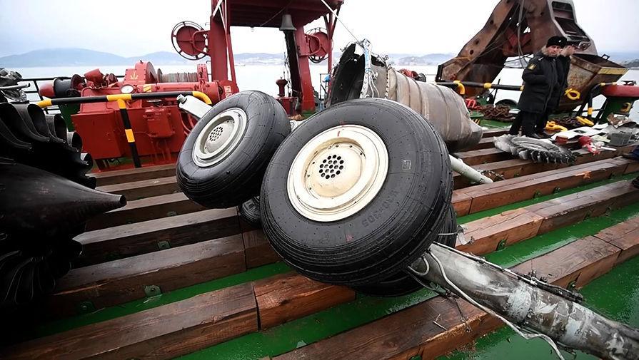 Эксперты: Причиной крушения Ту-154 под Сочи стал перегруз