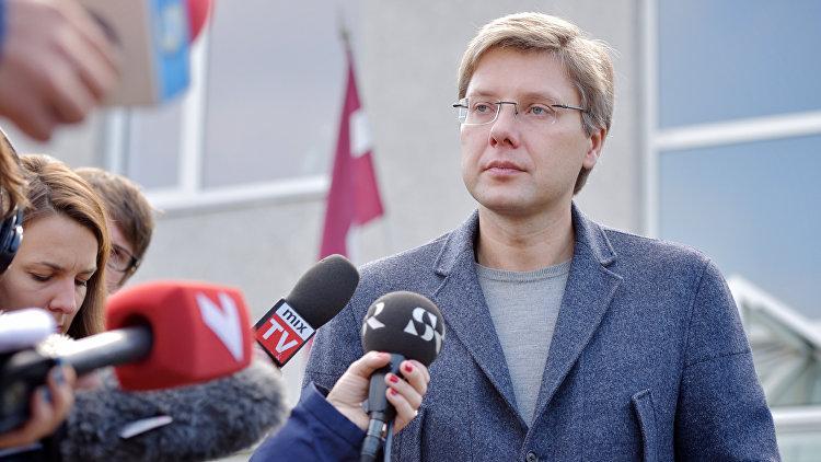 Мэра Риги вновь оштрафовали за использование русского языка