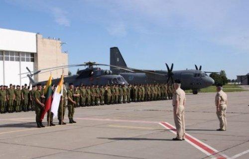 Воздушное пространство стран Балтии впервые будут охранять истребители F-18