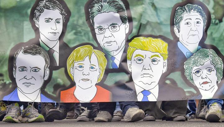 Меркель объявила, что Европе пора полагаться только насебя