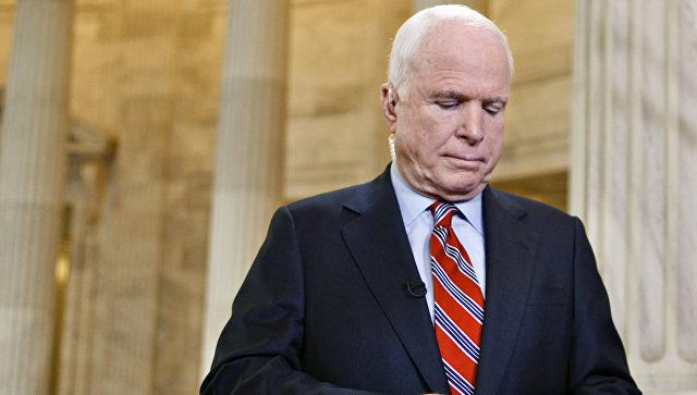 Сенатор Маккейн назвал Российскую Федерацию «большим вызовом, чемИГ»