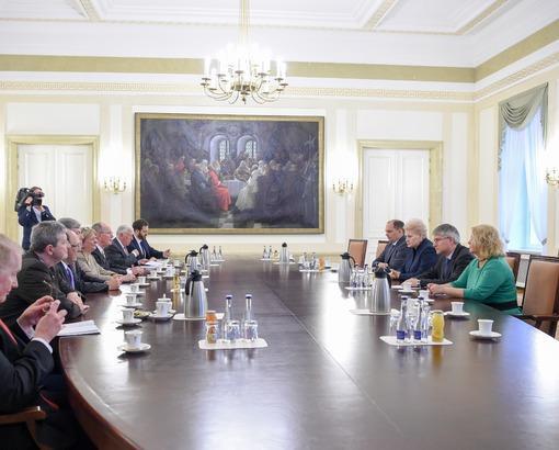 Президент Литвы обсудила с членами делегации Конгресса США вопросы безопасности