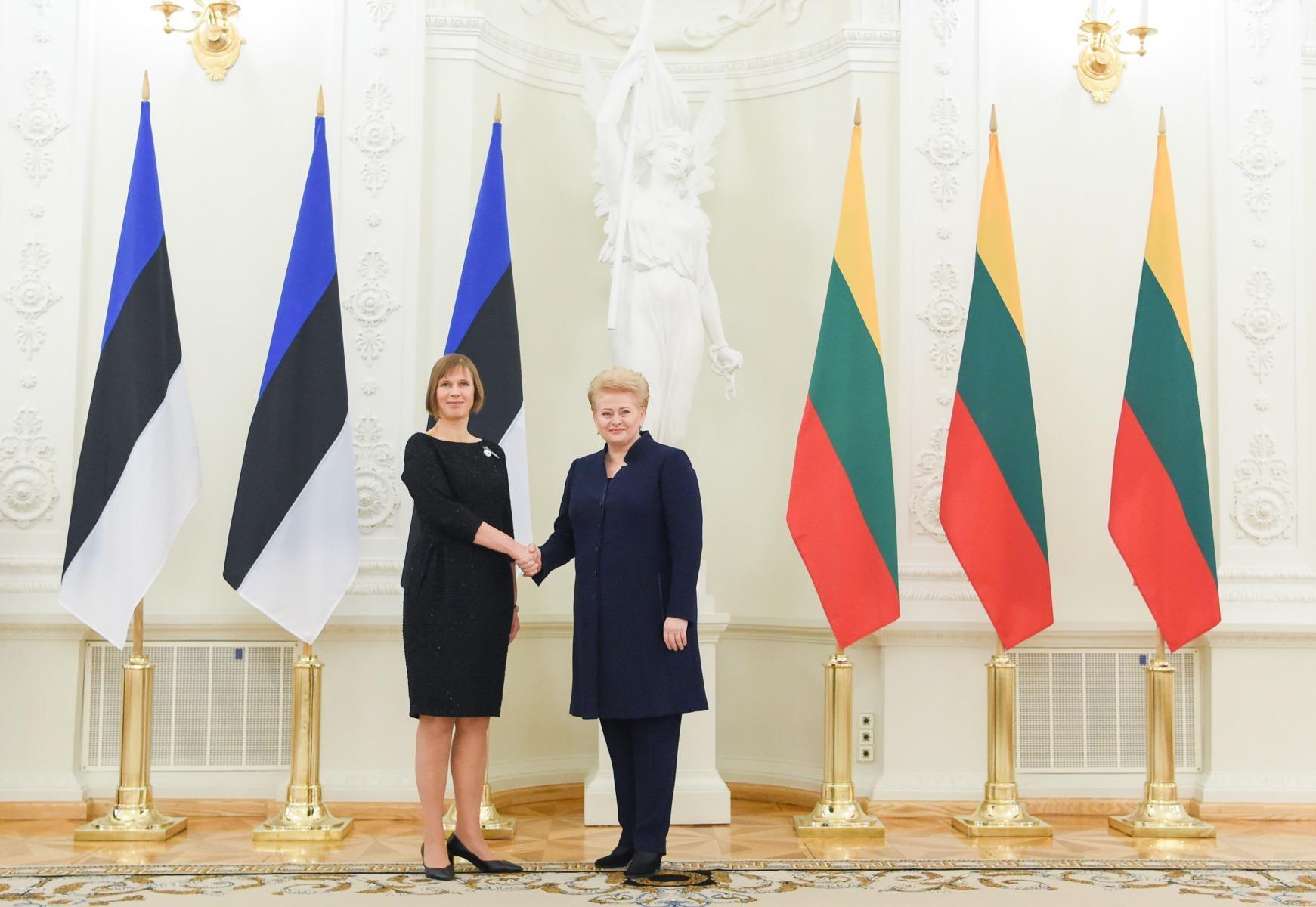 Президент Литвы посетит с государственным визитом Эстонию