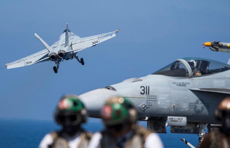 ВВС коалиции нанесли авиаудар по проправительственным силам в Сирии