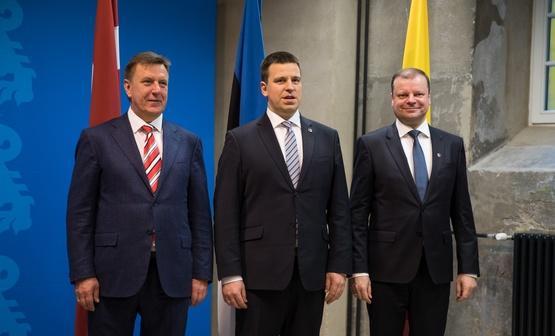 Премьеры трех государств Балтии обсудили главные проблемы региона