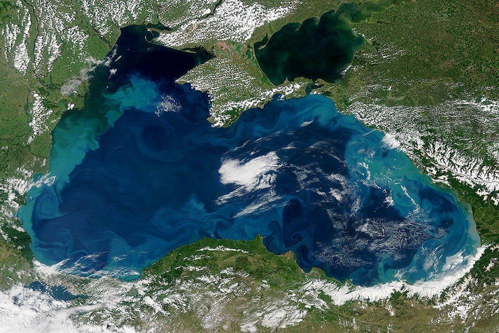 Цвет чёрного моря