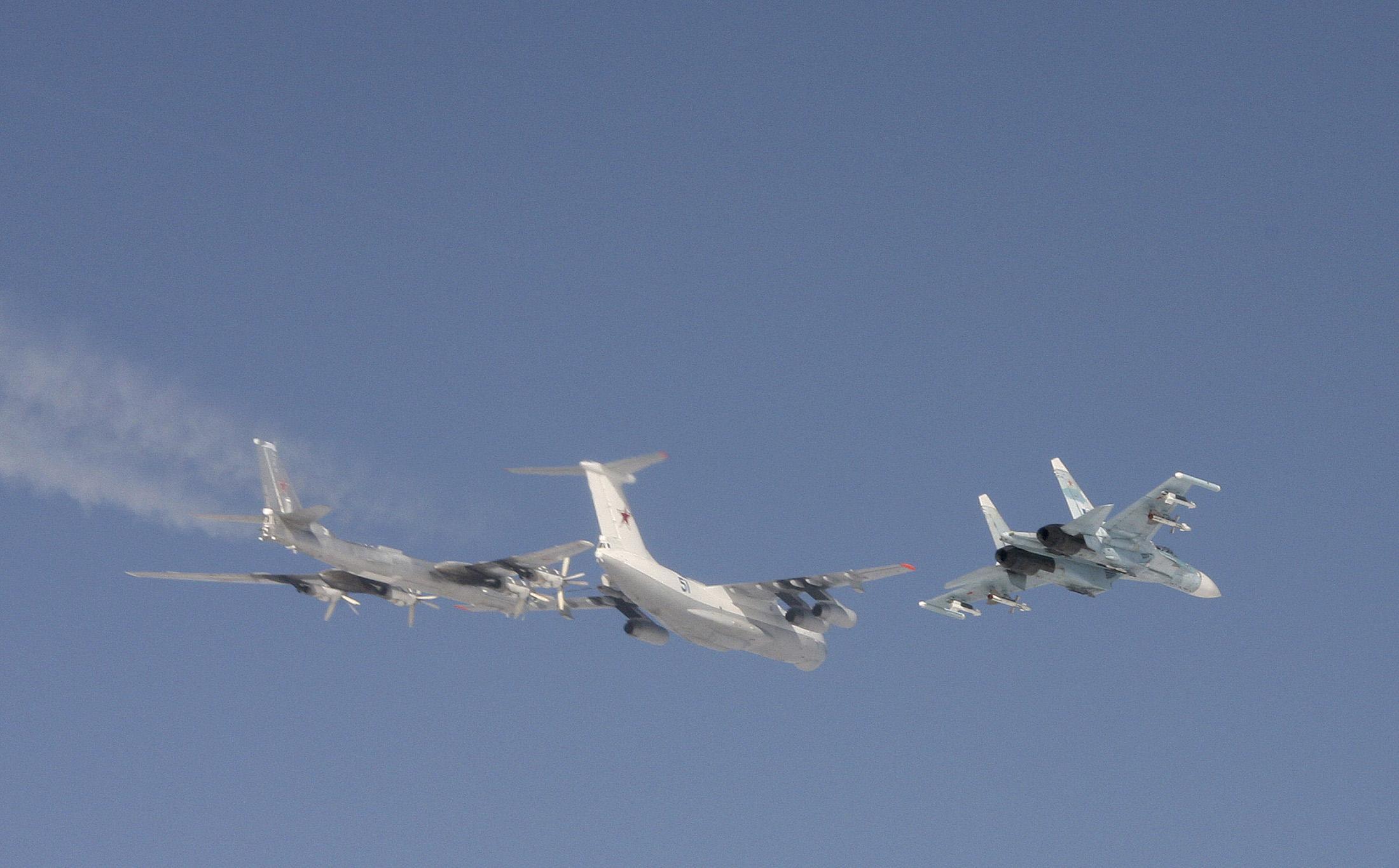 Самая интенсивная неделя: истребители НАТО сопроводили над Балтикой 32 российских борта